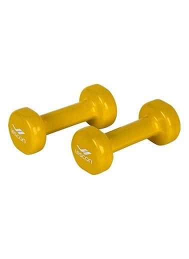 Lescon Dumbell-1 Kg Sarı